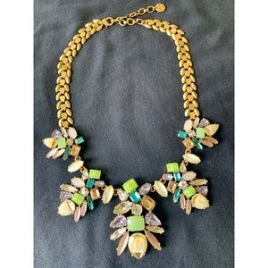 Stella & Dot multi colored choker necklace